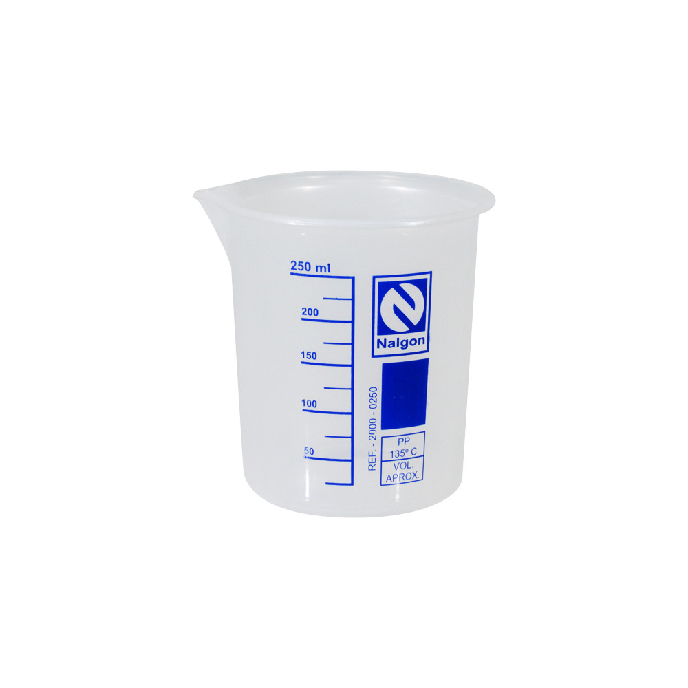 Copo Becker Polipropileno 250ml